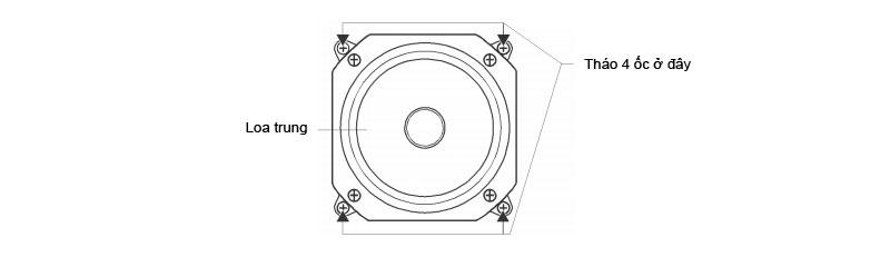 Hướng dẫn thay đổi hướng loa BMBM CSX 1000 SE