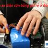 Thay pin xe điện cân bằng giá rẻ ở đâu?